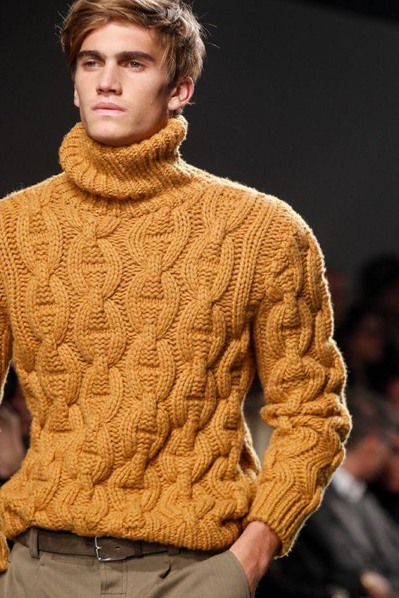 Veronique Nichanian For Hermès Ss12 Chunky Cashmere Turtleneck