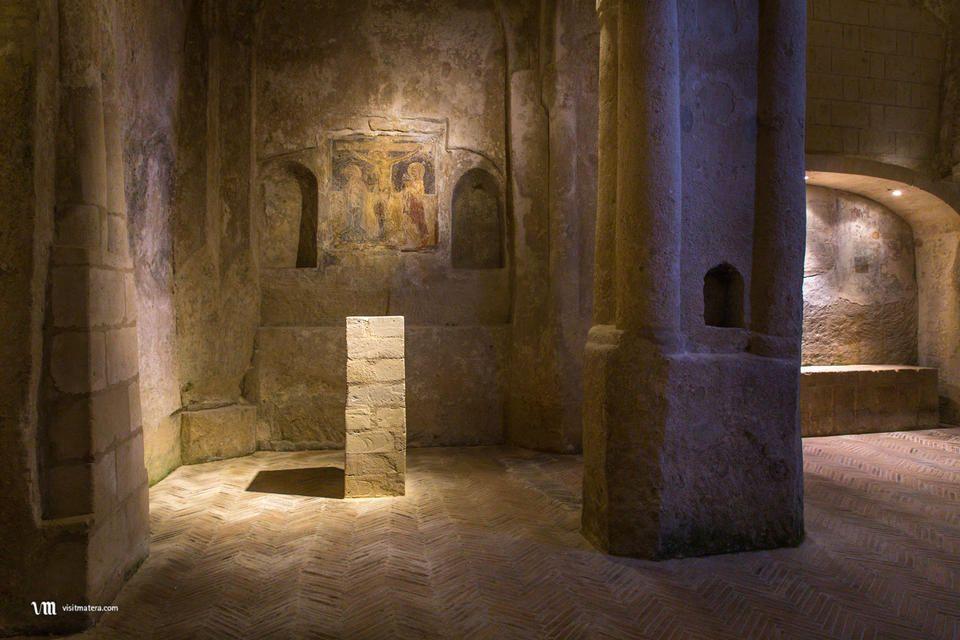 Madonna delle Virtù e San Nicola dei Greci (Chiese Matera): interno