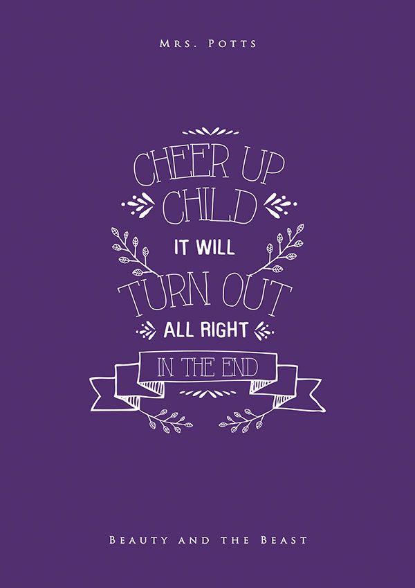 19 Inspiring Disney Movies Typography Posters By Nikita Gill Inspirational Quotes Disney Disney Quotes Calligraphy Quotes Disney