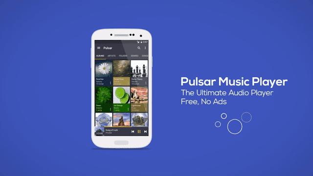 Pulsar Music Player PRO v1.6.0 build 76 Cracked Apk