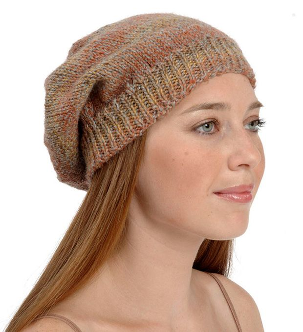 Free Knitting Patterns For Charity Slouchy Hat Knitting Patterns