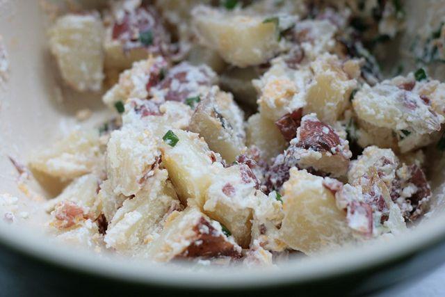 baked potato salad (so yummy)