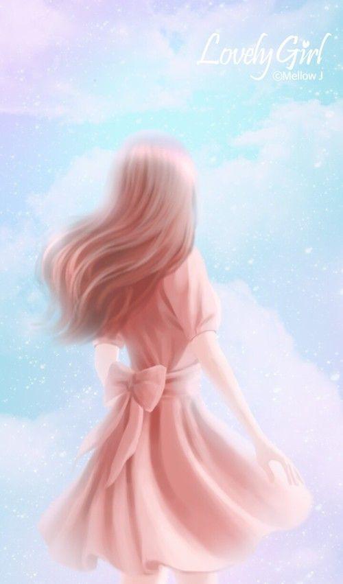 Art Art Girl Background Beautiful Beautiful Girl Beauty Cartoon Colorful Design Drawing Enakei Fashion Fa Art Girl Illustration Girl Anime Art Girl