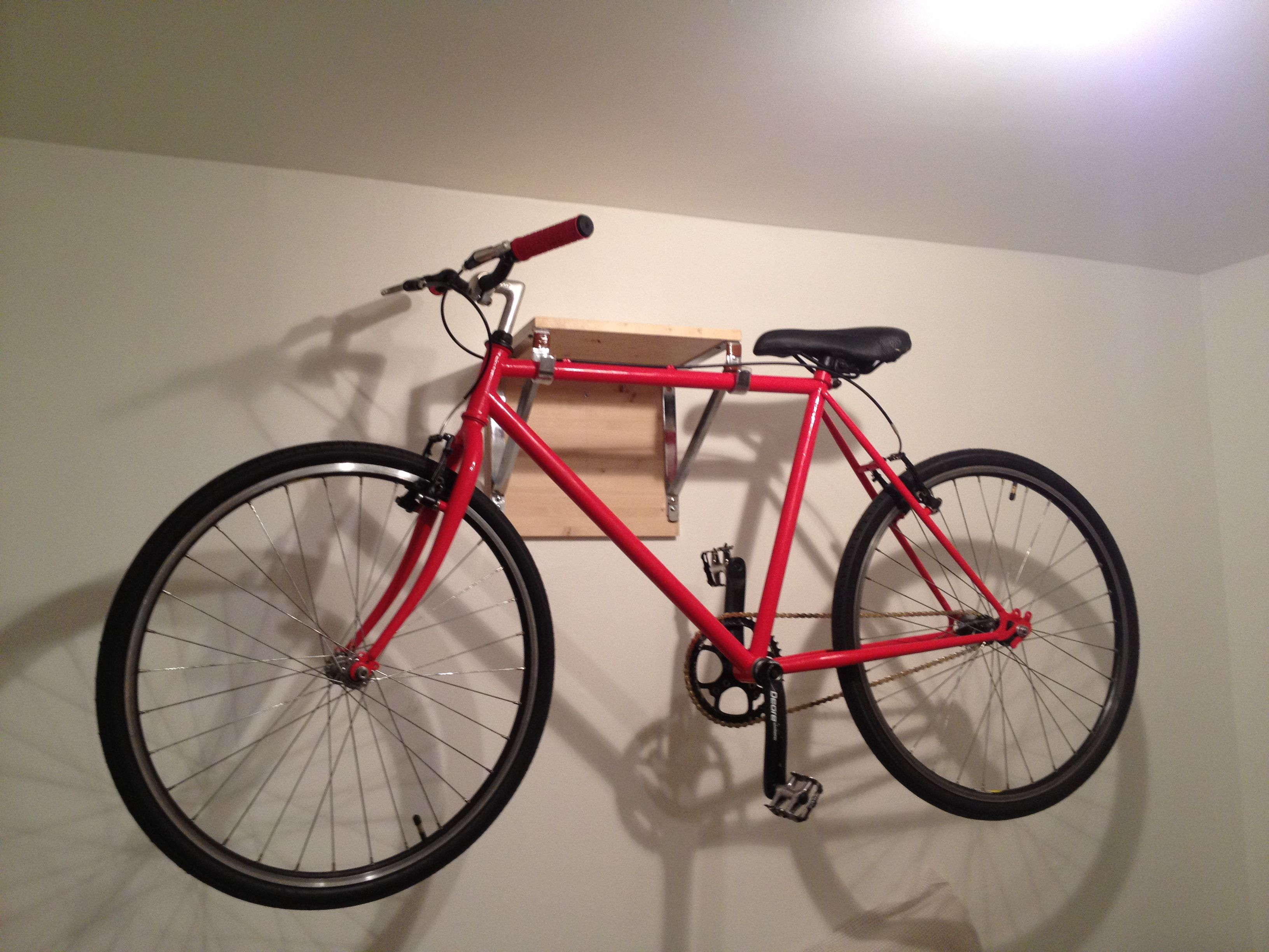 Wall Mount Bike Storage