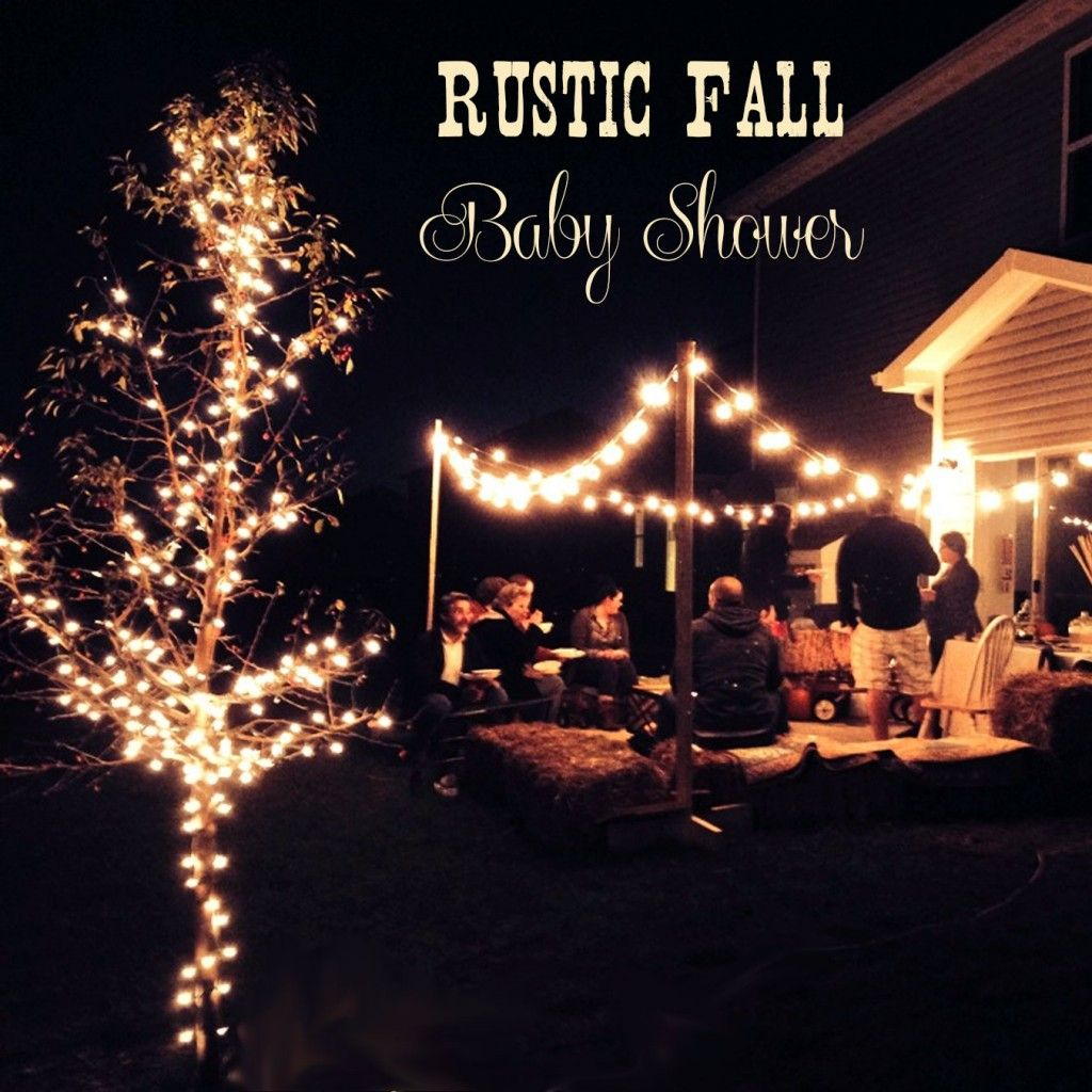 Rustic Fall Couples Baby Shower