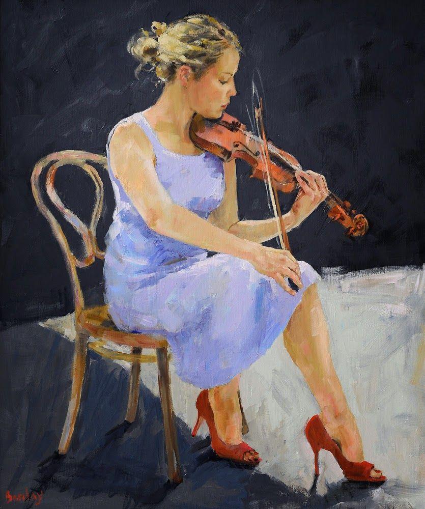 Muriel Barclay Figurative painter Dance paintings