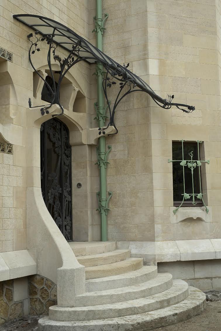 Jika P : Nouveau, Henri, Sauvage,, Villa, Majorelle, Nancy., Built, Cabinetmaker, Louis, Majorelle., Overa…, Nouveau,, Interior, Design, Styles,, World
