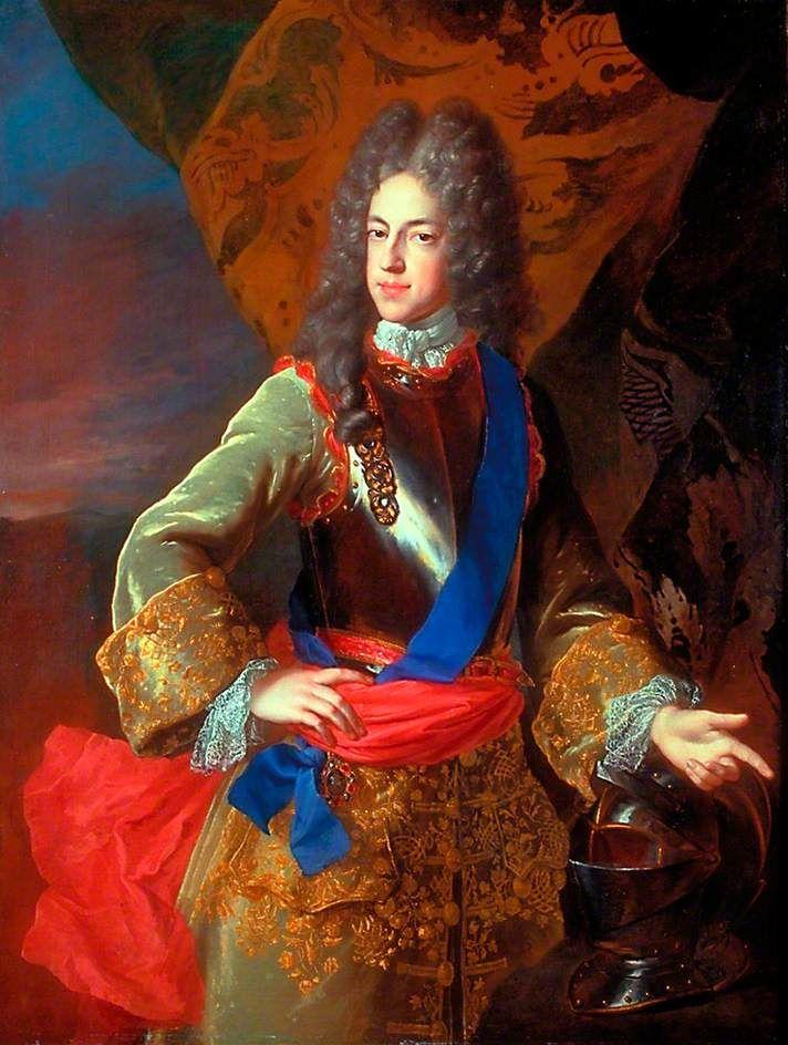 Prince James Francis Edward Stuart (1688–1766), 'The Old Pretender' by Alexis-Simon Belle