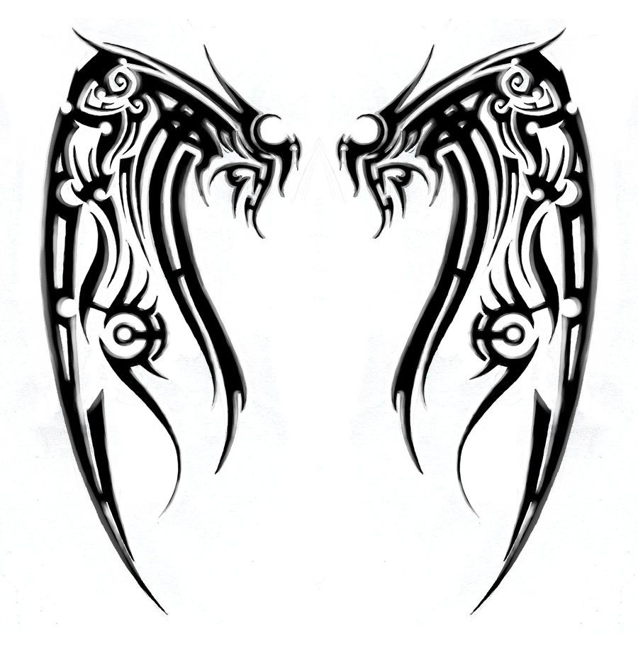 cross with wings tribal meanings and symbols for scott ...