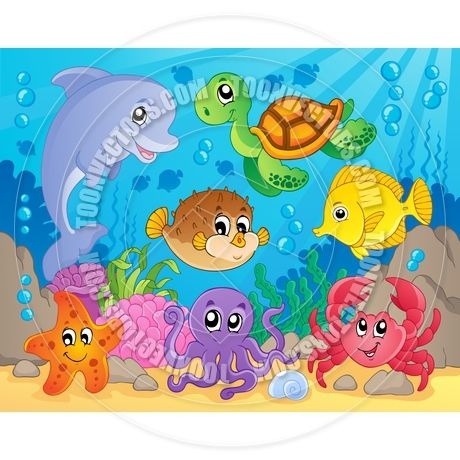 cartoon coral reef google search color my loves pinterest