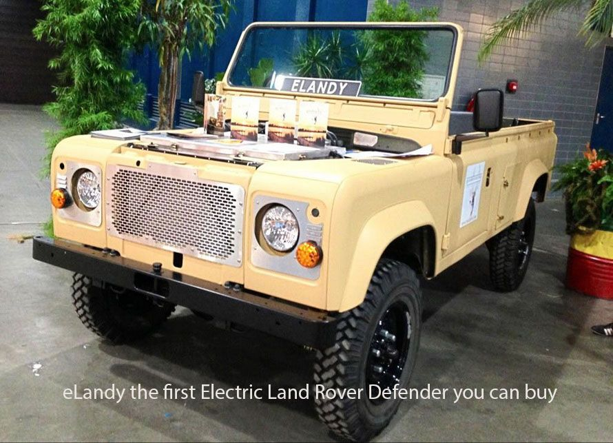 Elandy the first electric LandRover Defender you can