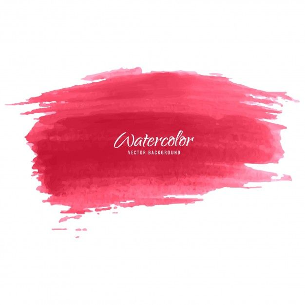 Download Red Watercolor Brush Background For Free In 2020 Brush