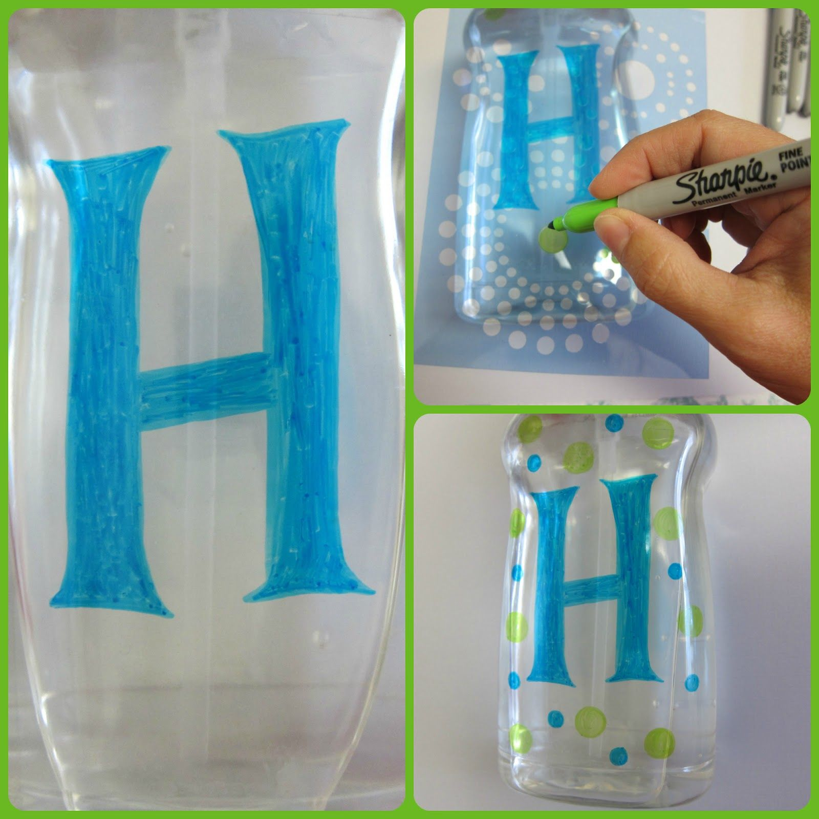 Back To School Teacher Gift Decorated Hand Sanitizer Bottles