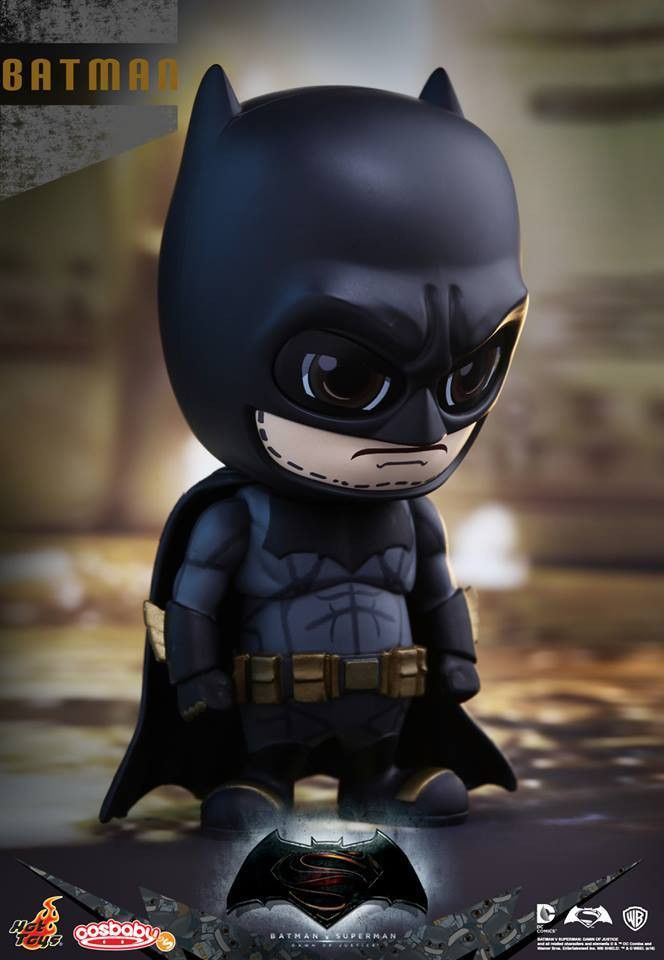Hot Toys Justice League Batman Cosbaby New