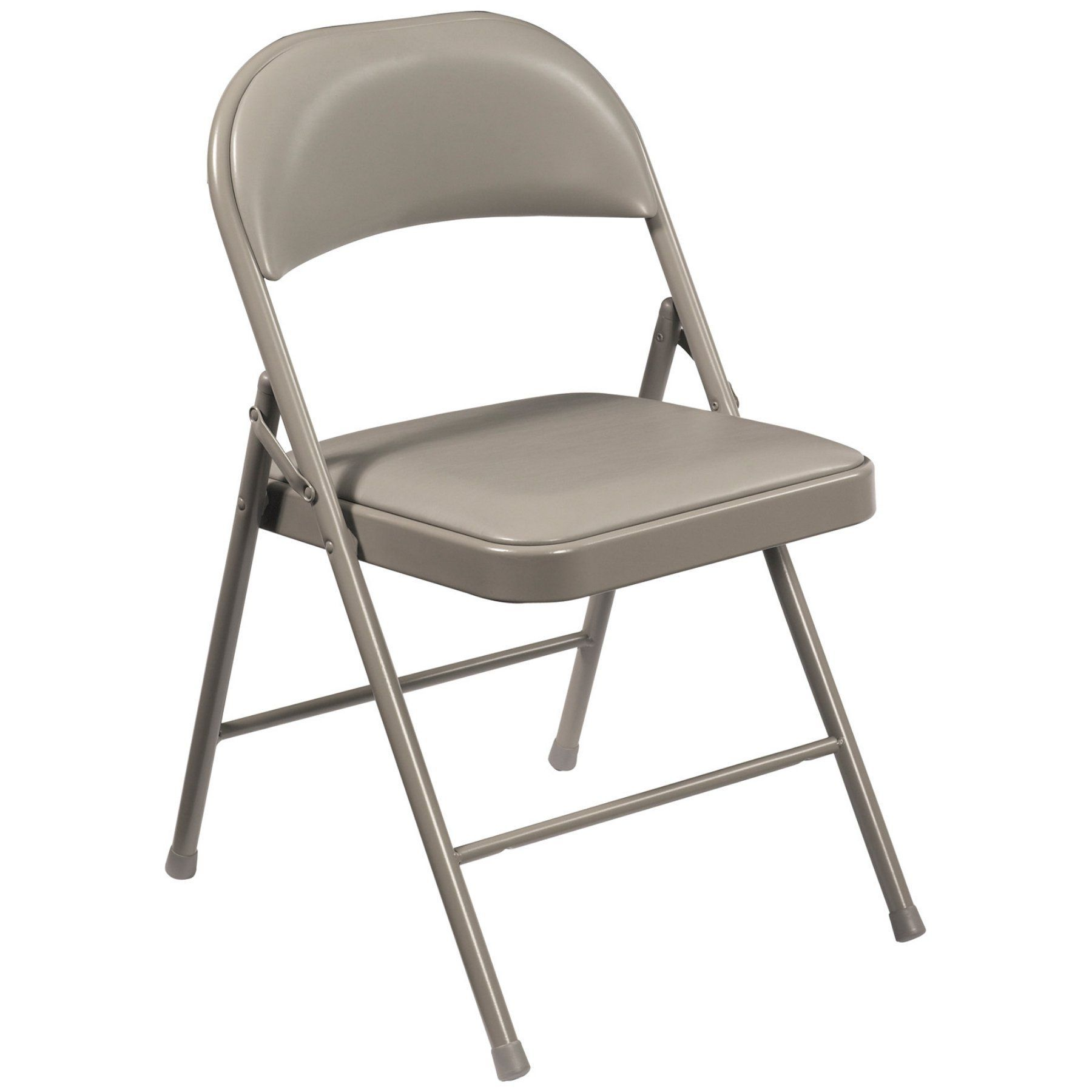 National Public Seating Commercialine Vinyl Padded Folding Chairs