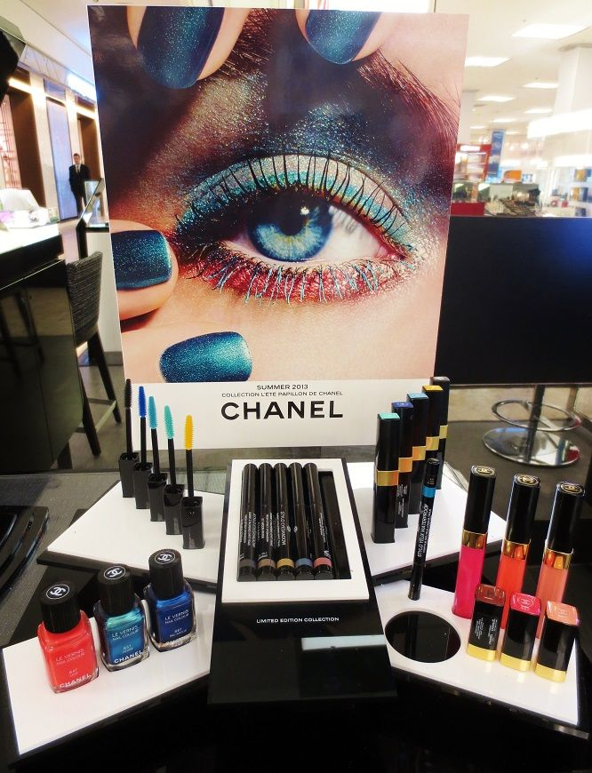 chanel cosmetic display - Google Search   POSM   Pinterest ...