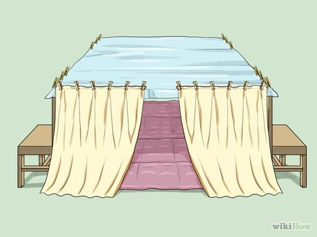 Make A Blanket Fort Diy Pinterest Blanket Fort