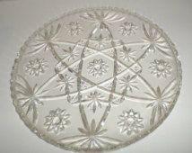 Pin On Glass Platters Trays