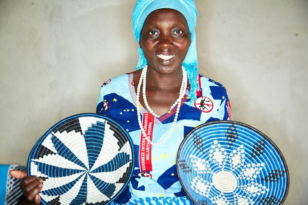 HAB•I•TA•TION — About The Process: Basket Weaving in Rwanda