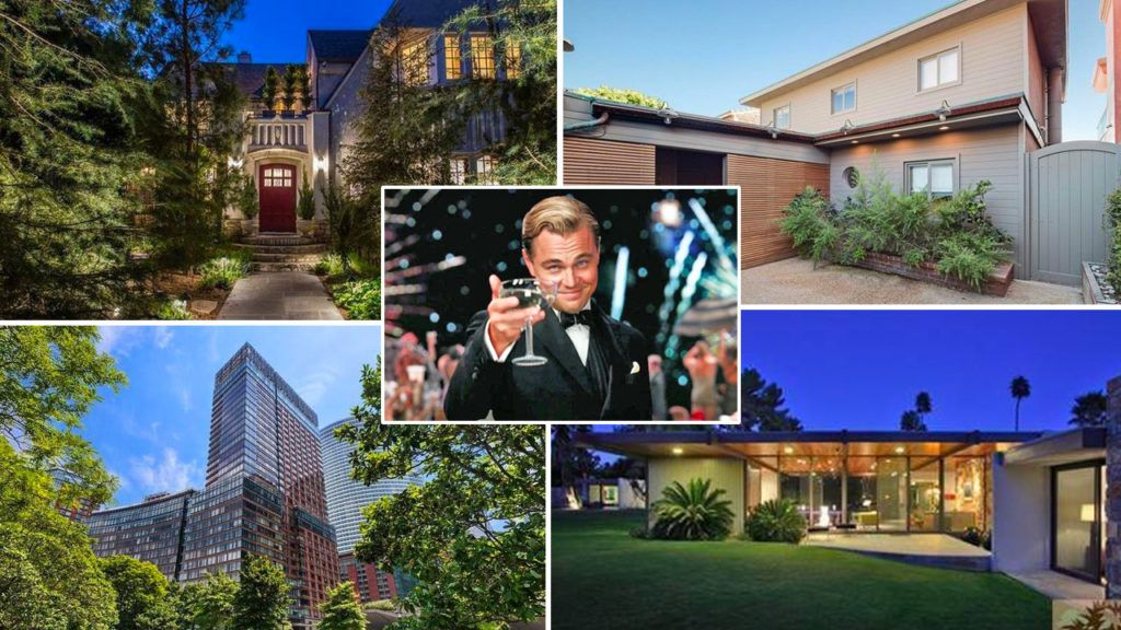 Leonardo Dicaprio Owns How Many Homes A Startling Peek At His Property Portfolio Celebrity Real Estate Real Estate Houses Eco Friendly House