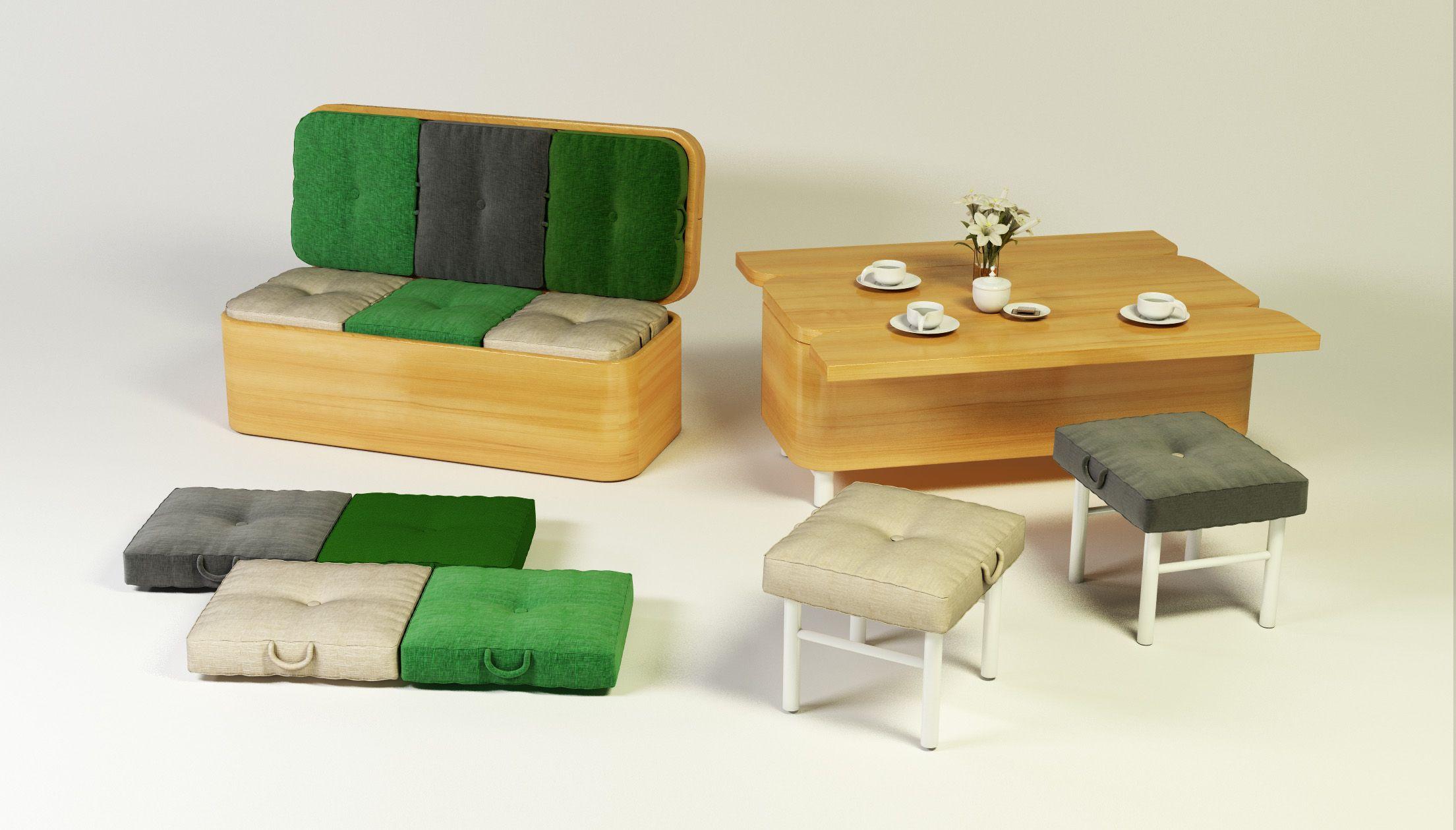 Convertible Sofa Julia Kononenko Design