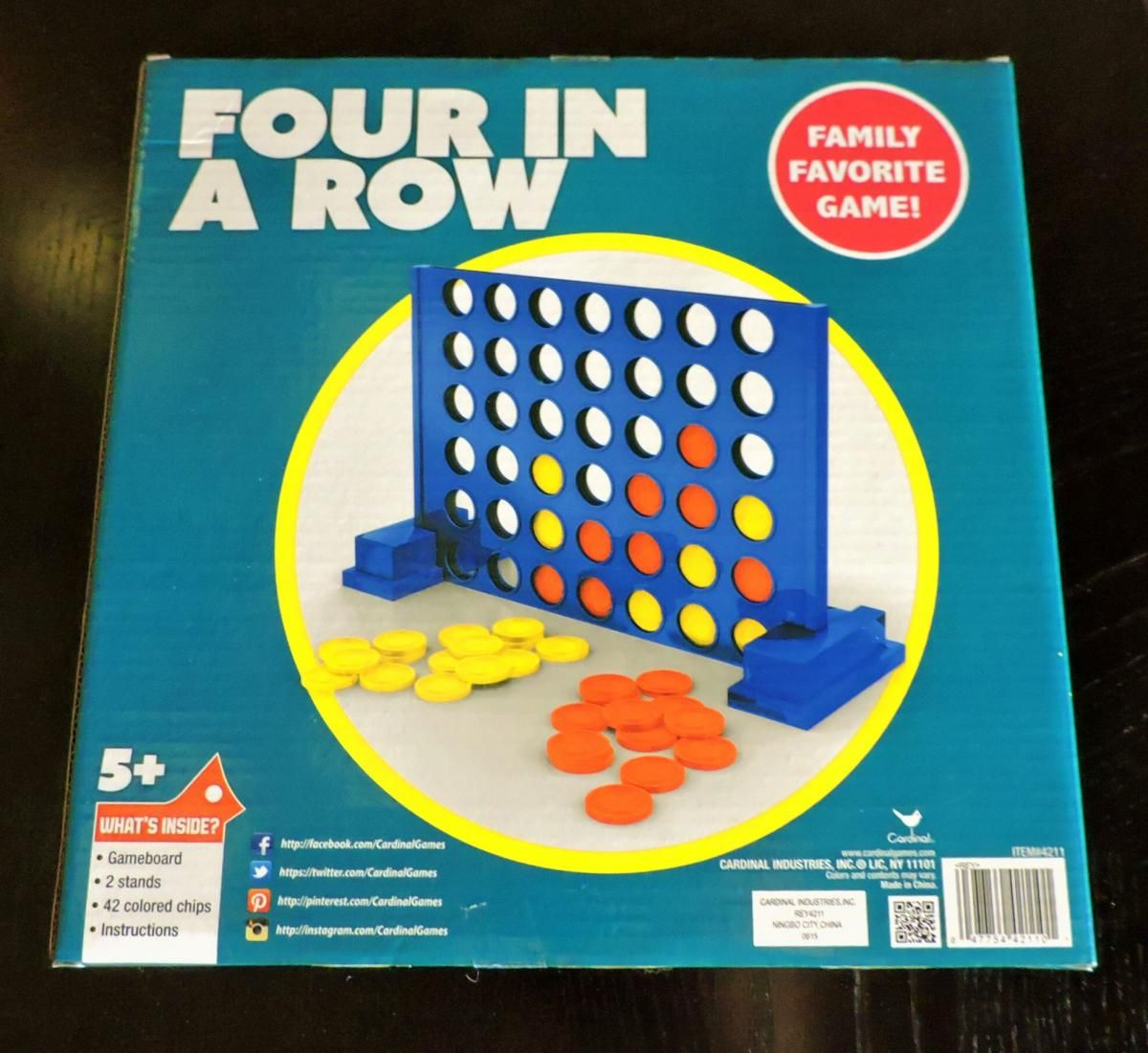 Adapting Connect Four For Players With Visual Impairments