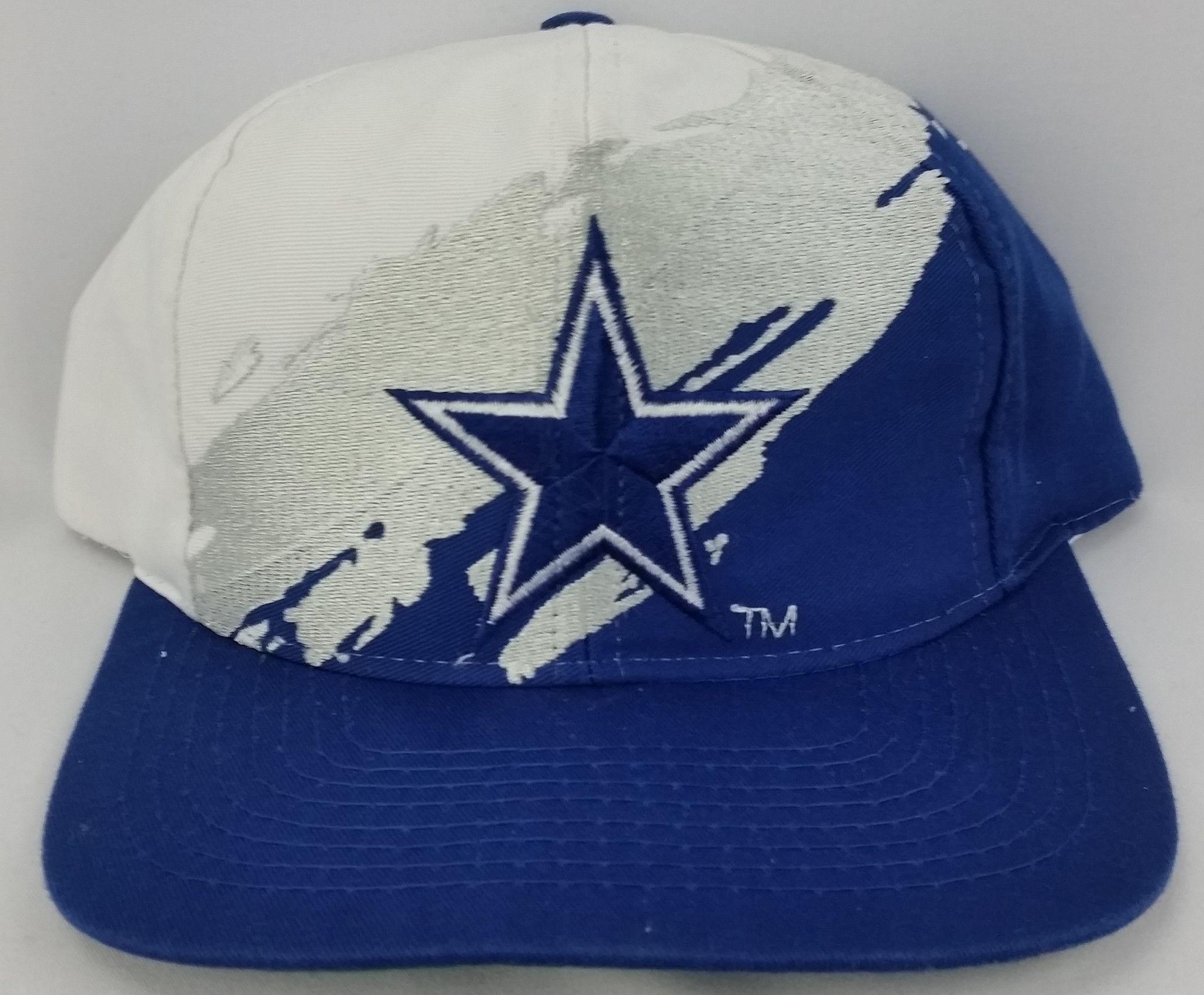 8e2574f2 Dallas Cowboys Vintage Snapback Logo7 Reverse Splash Hat NFL Twill ...