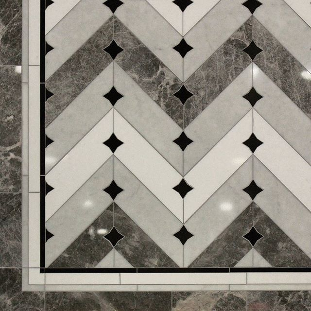 A unique combination of #star and #chevron #patterns # ...