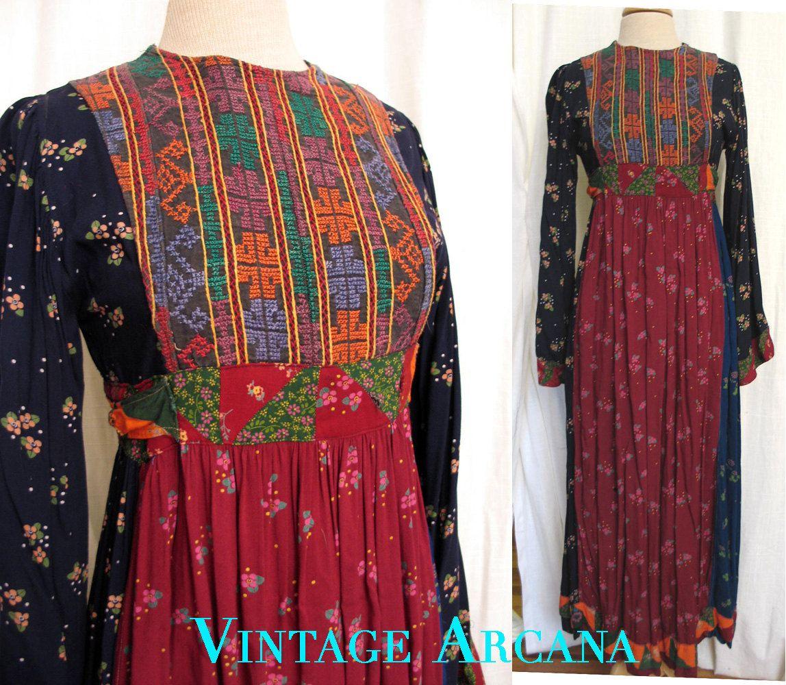 Vintage Hippie Dresses For Sale