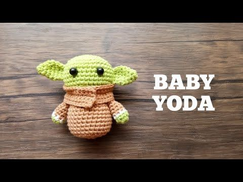 BABY YODA INSPIRED | HOW TO CROCHET | AMIGURUMI TUTORIAL | FAN ART