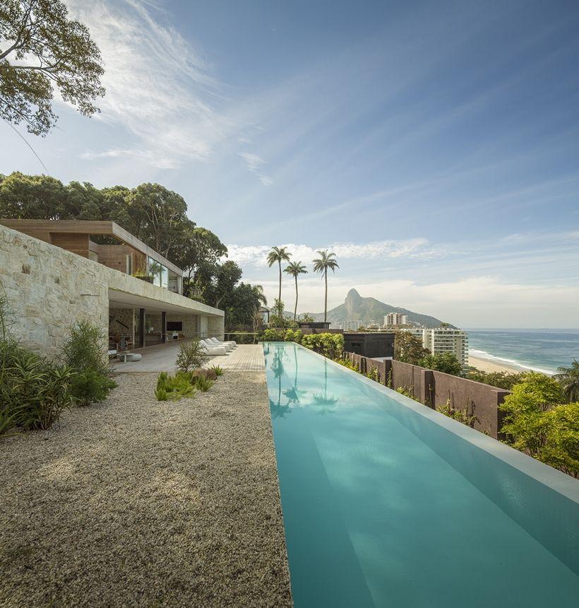 Stunning Dream Home In Rio De Janeiro Brazil Piscines Modernes Maisons Modernes De Luxe Terrasse Design