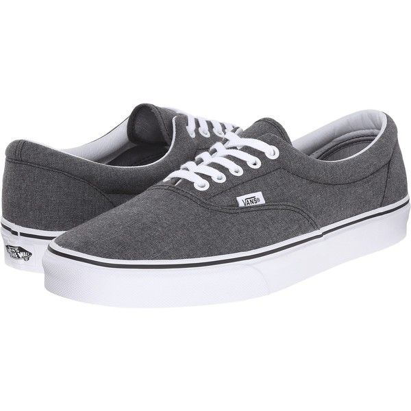 f89994bbc4 Vans Era ((Mixed Suiting) Gray) Skate Shoes ( 38) ❤ liked on Polyvore  featuring shoes