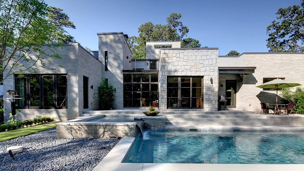 Stone Exterior for Houses modern | Cultured Stone decorating ideas ...