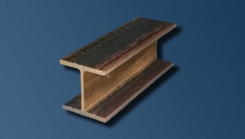 Hot Roll Steel I Beam: click to enlarge