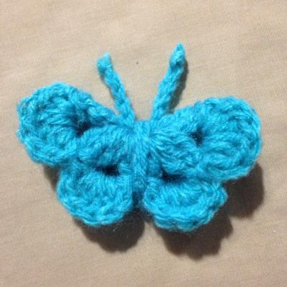 Crochet a Beautiful  Butterfly