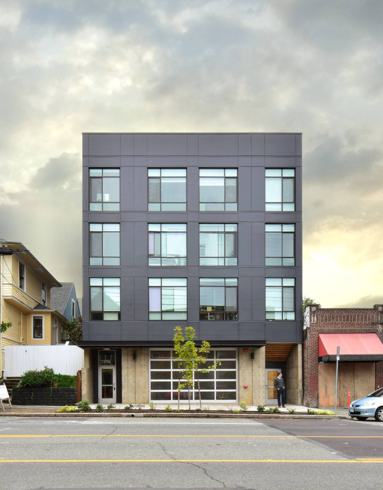 Mixed Use Apartments Architecture Google Search Apartment Architecture Architecture Micro Apartment