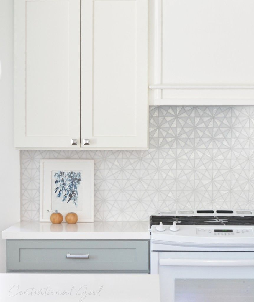kitchen backsplash glass tile white cabinets. Tessera From Oceanside Glass Tile White Upper Kitchen Cabinets Gray Lower Backsplash E