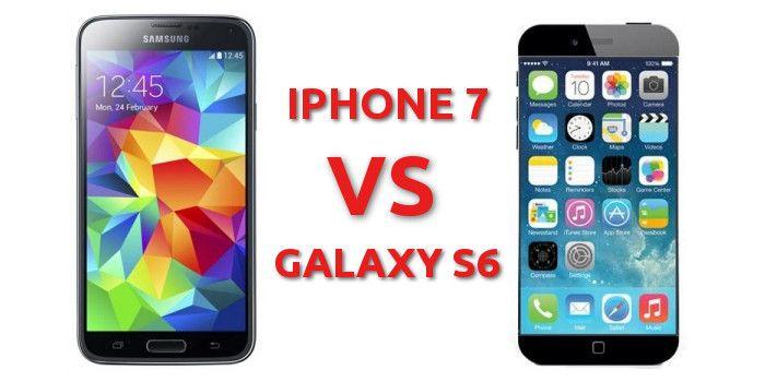 Samsung galaxy s6 vs iphone 7