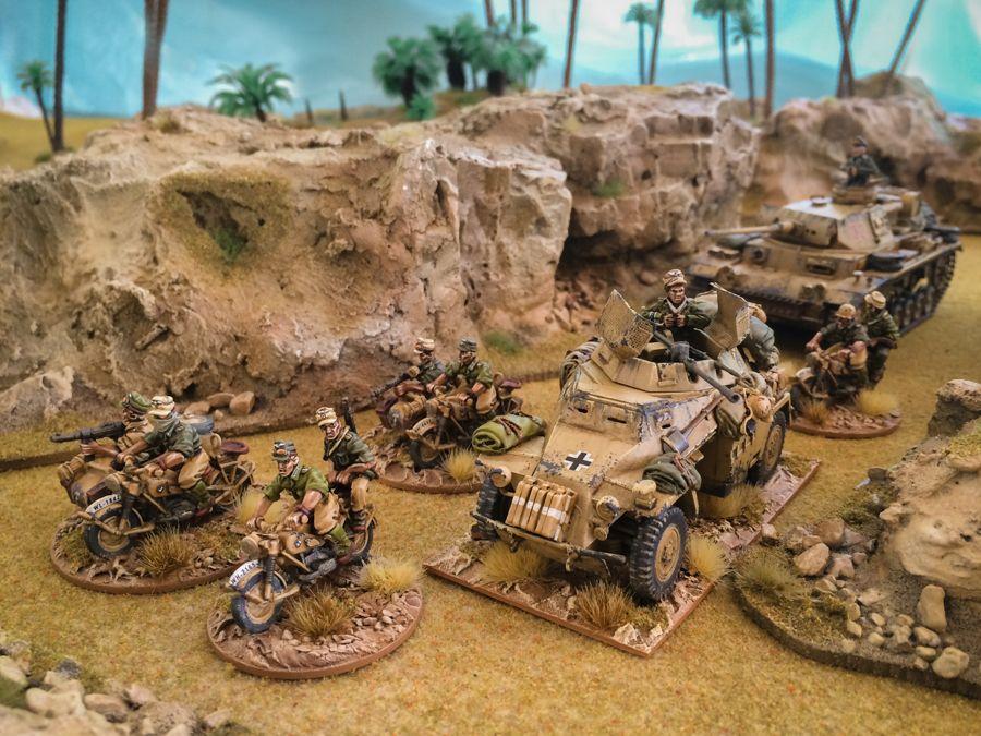 Bolt Action Afrika Korp Platoon Wwpd Wargames Board Games