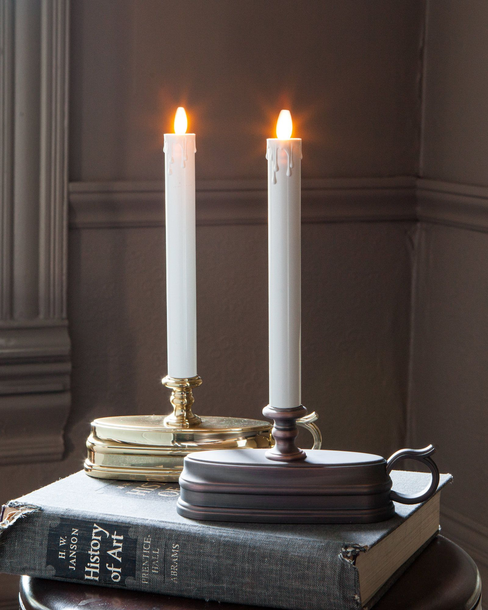 Christmas candles for windows battery operated - Battery Operated Window Candles Set Of 2 Balsam Hill