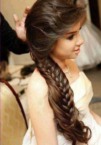 Side inside/outside braid