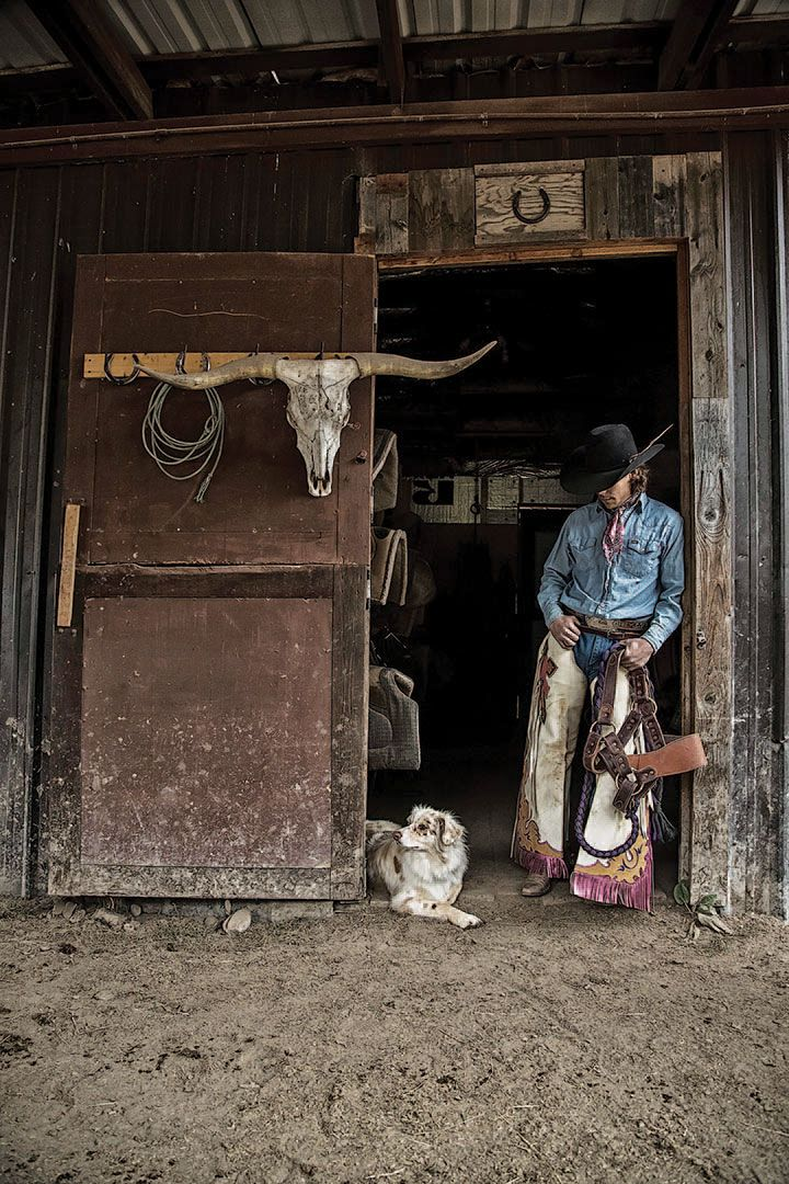 Winning images from the 2015 photo contest cowboy culture category.