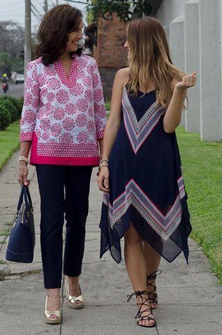 #FashionBySIMAN & Sofía Ávila: Los elementos azules en un outfit pueden ser adaptados en variedad de prendas y a cualquier edad.