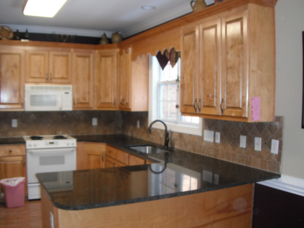 Marvelous Coffee Brown Granite Countertops Installed In Charlotte NC |  Http://www.fireplacecarolina