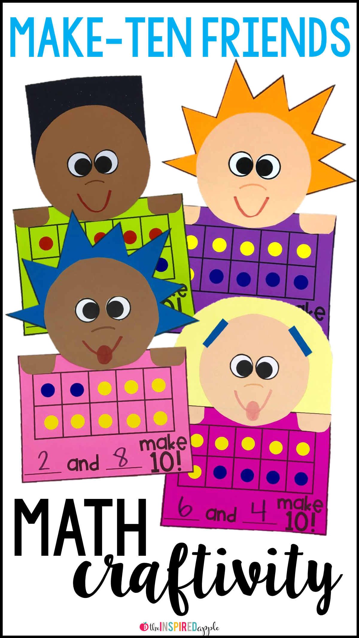Making Ten Math Craft For Primary Students