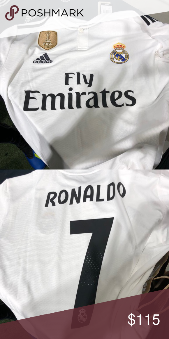 meet be785 3be2e 2018/2019 Real Madrid Ronaldo Jersey. Large. I have a brand ...