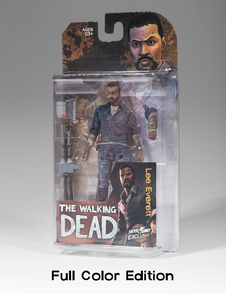 The Walking Dead Alpha Mcfarlane Figure Action Toy B/&W BLOODY Variant NYCC 2015
