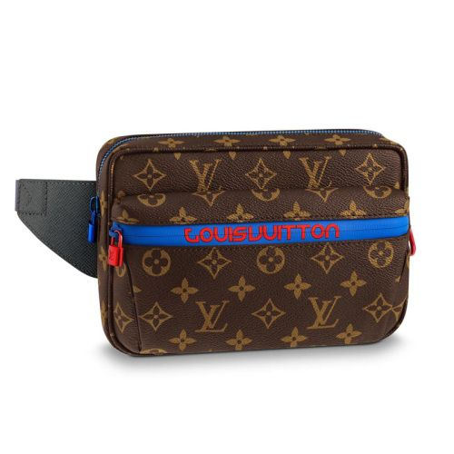 ef4e98b59352 LV fanny pack 2018 pouch mens Louis vuitton fanny pack lv belt bag lv Bum  bag side lv man bag waist bag M43828