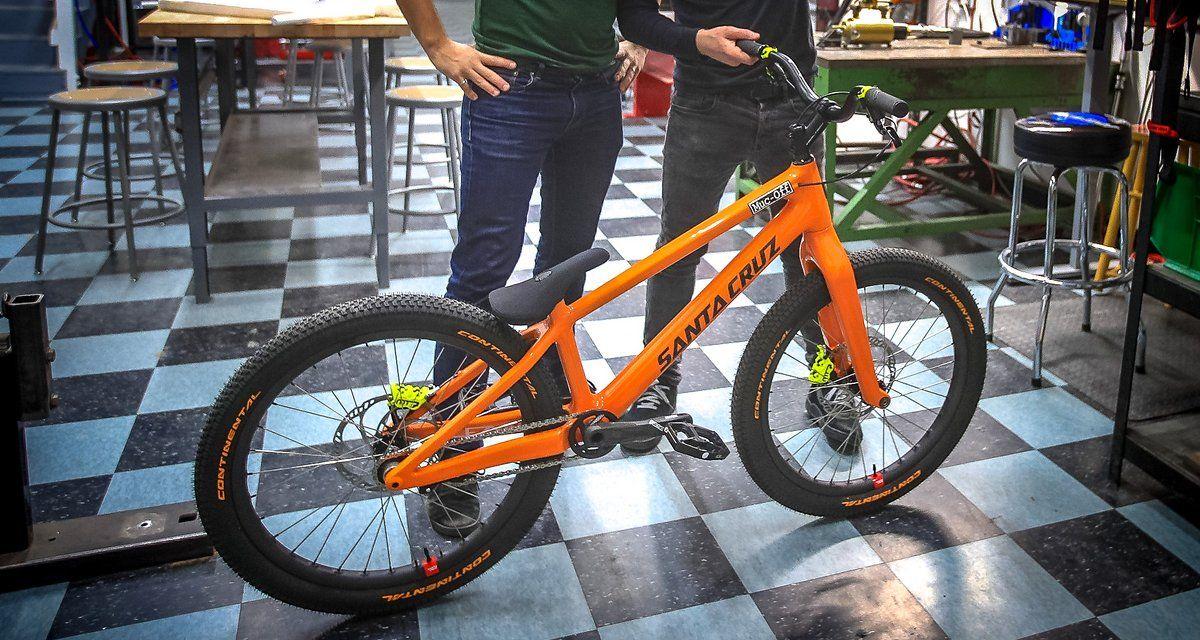 Wie Danny Macaskills Neues Santa Cruz Carbon Trial Bike Trial