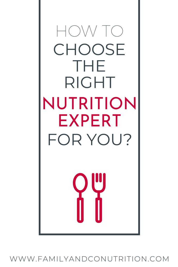 How to find the best registered dietitian for you and your